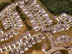 suburban tract