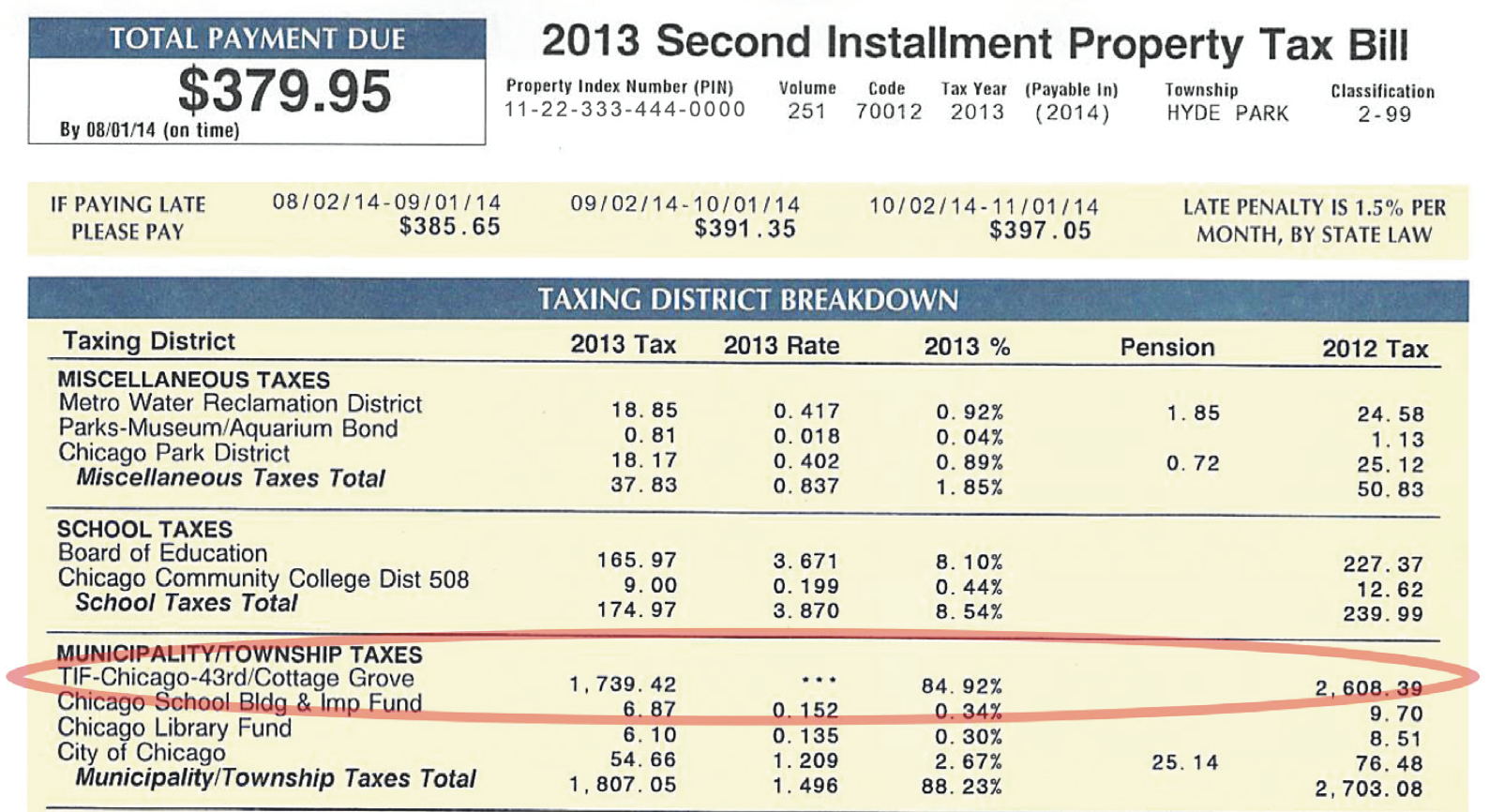 When Does York County Have Property Tax Bill